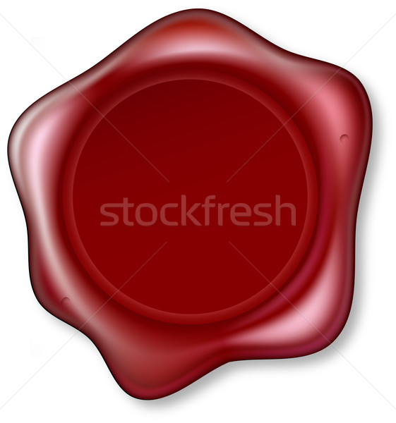 Red Wax Seal Stock photo © Krisdog