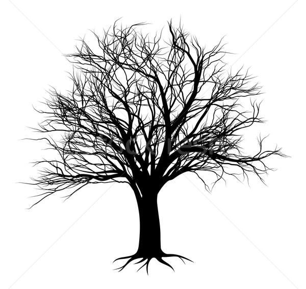 tree silhouettes 2014 A5 [Converted] Stock photo © Krisdog