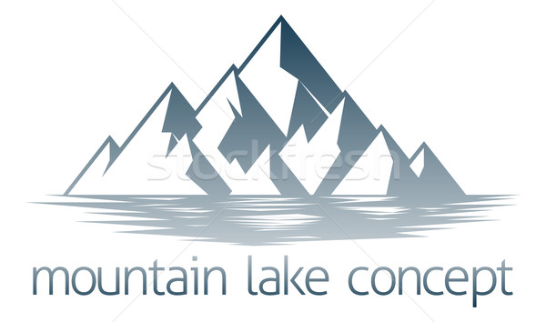 Mountain Lake Concept Stock photo © Krisdog
