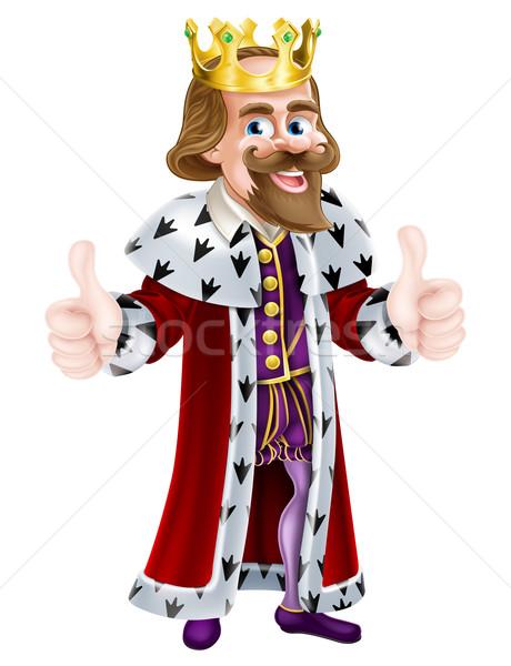 King Cartoon Mascot Stock photo © Krisdog