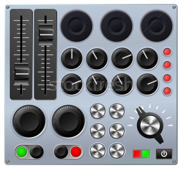 контроль утешить звук совета музыку свет Сток-фото © Krisdog
