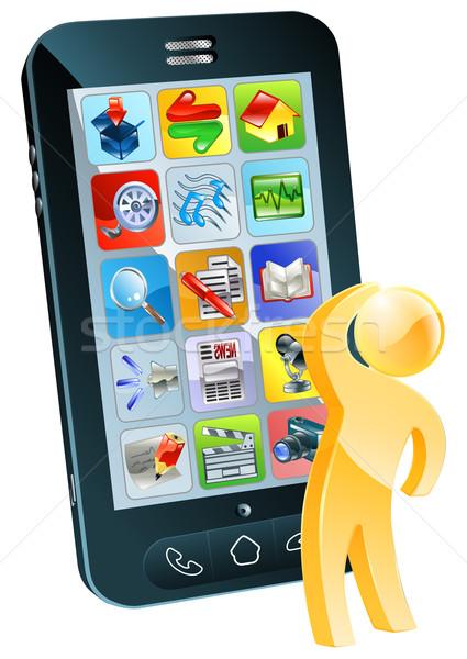 Which app concept Stock photo © Krisdog