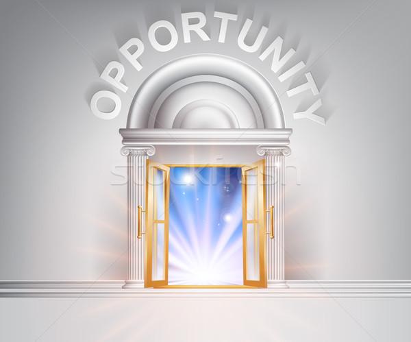 Door to Opportunity  Stock photo © Krisdog