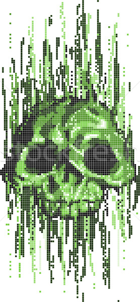 computer virus skull concept Stock photo © Krisdog