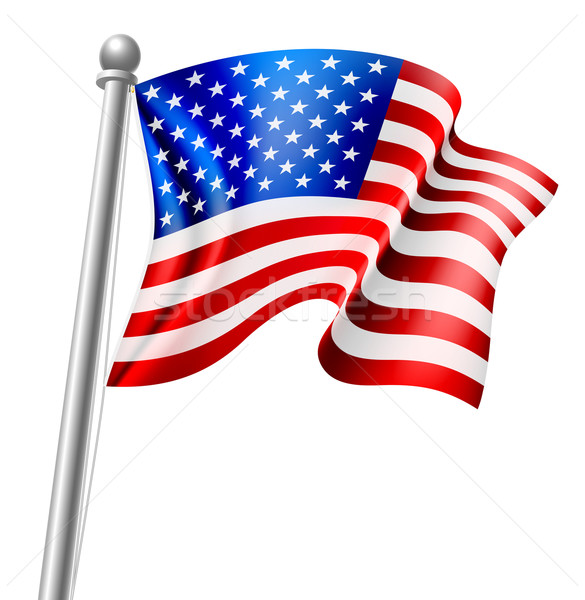 American Flag Stock photo © Krisdog