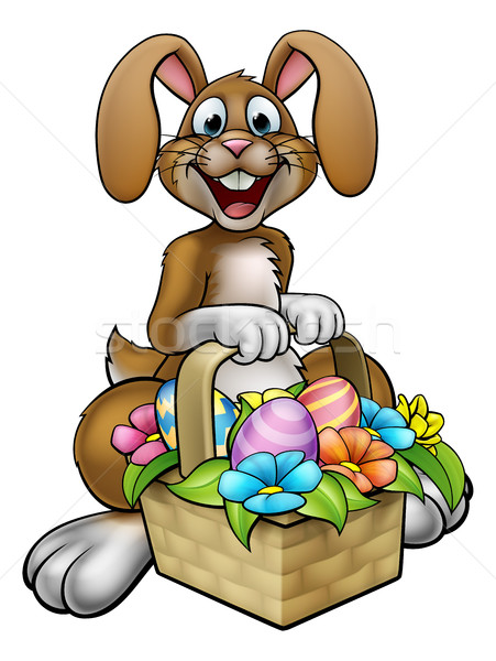 Easter Bunny Cartoon Character Stock photo © Krisdog
