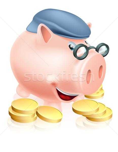Pensioner savings concept Stock photo © Krisdog