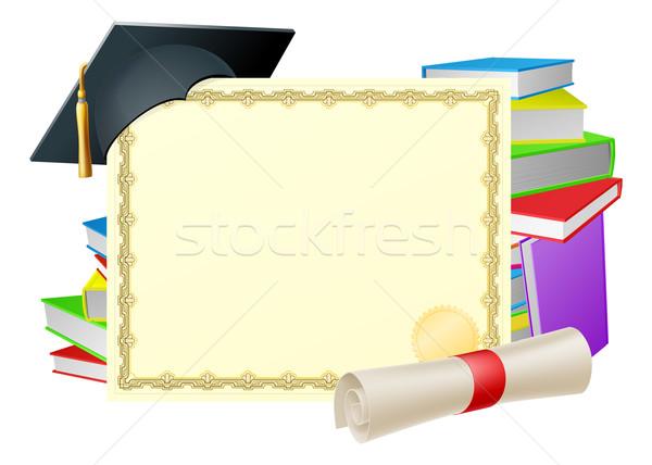 Education background Stock photo © Krisdog