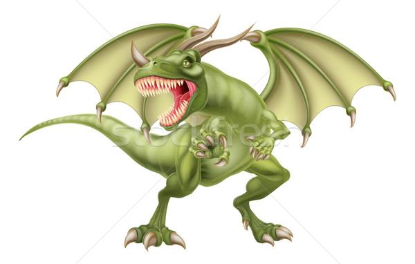 Green Dragon Stock photo © Krisdog