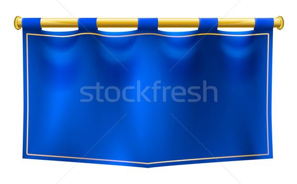 Medieval Royal Banner Flag  Stock photo © Krisdog