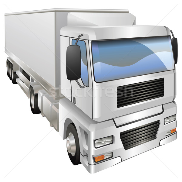 Illustration of haulage truck Stock photo © Krisdog