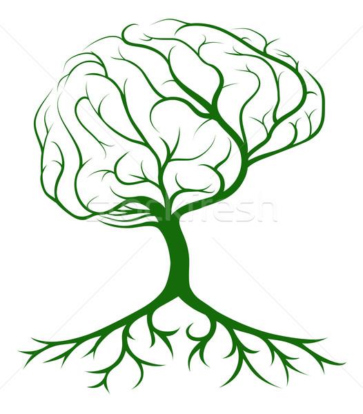 Brain Tree Stock photo © Krisdog