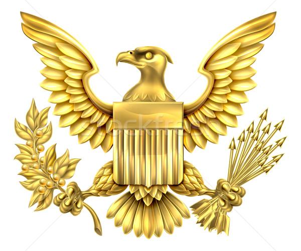 American Gold Eagle Stock photo © Krisdog