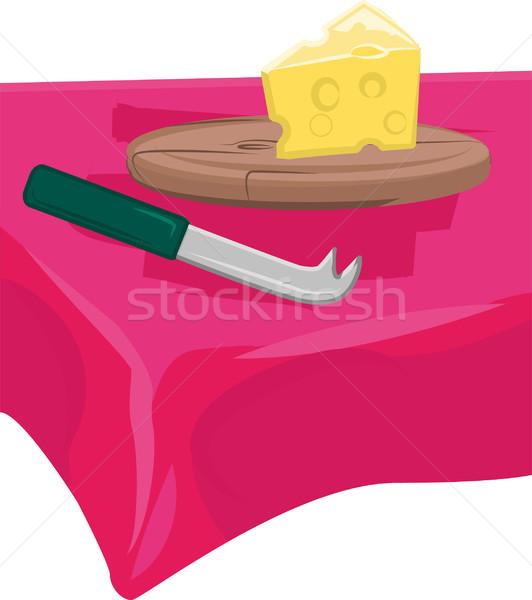 cheese board Stock photo © Krisdog