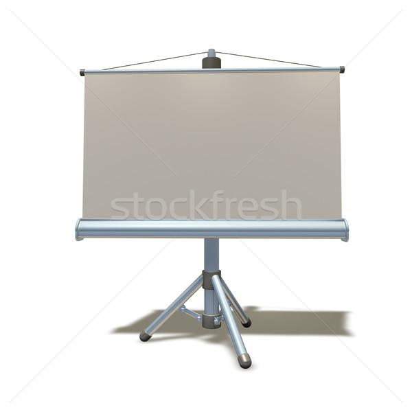 Stock photo: 3d presentation equipment illustration