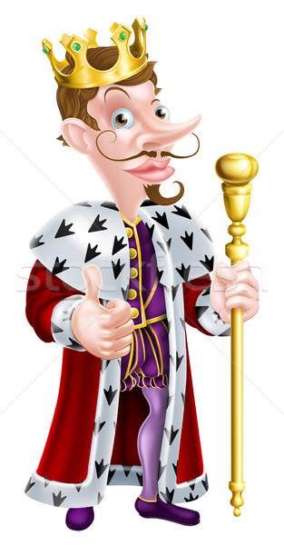 King Cartoon Stock photo © Krisdog