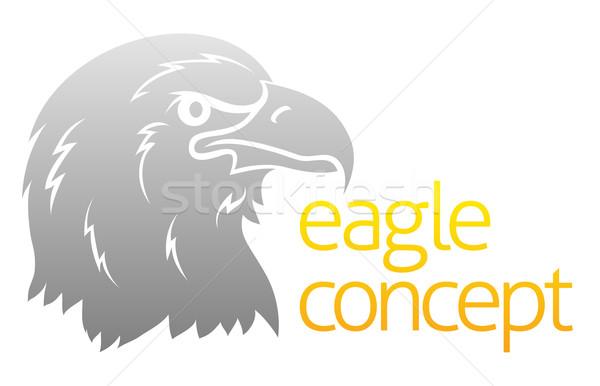 Proud eagles head Stock photo © Krisdog