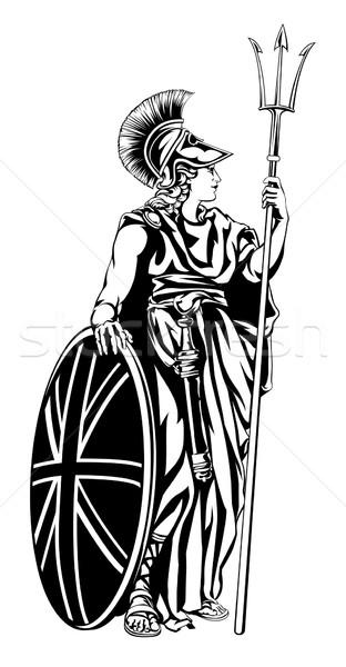 Illustration of Britannia  Stock photo © Krisdog