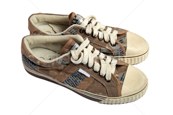 Gymnase chaussures mode sport caoutchouc Voyage Photo stock © krugloff
