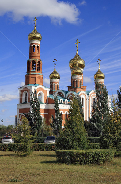 Omsk, the Christ Cathedral of the Nativity  Stock photo © krugloff