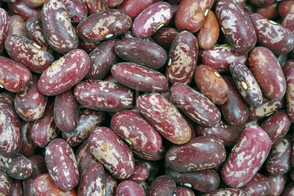 Rouge fèves fond fruits couleur Photo stock © krugloff