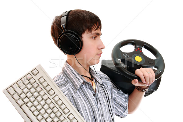 Gamer Stock photo © krugloff