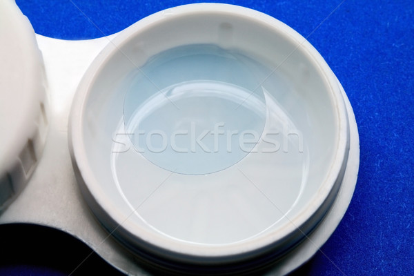 Contact lens in a solution  Stock photo © krugloff