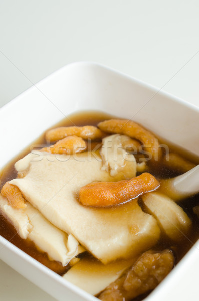Chinese delicious food. Stock photo © kttpngart
