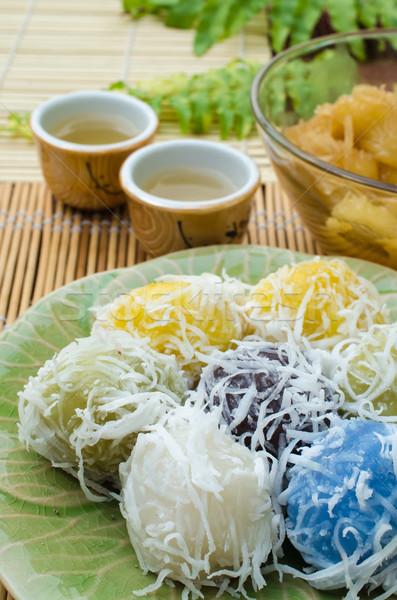 Thai traditional dessert Stock photo © kttpngart