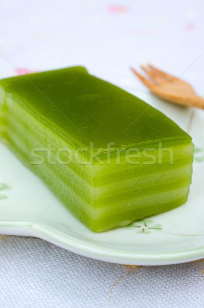 layer pudding Stock photo © kttpngart