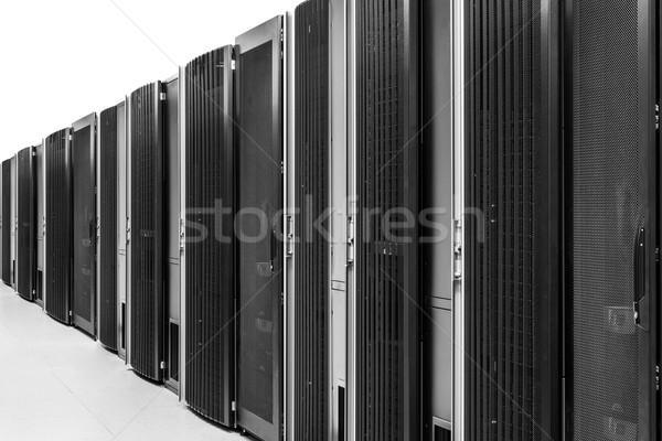 Rete server stanza business internet sicurezza Foto d'archivio © kubais