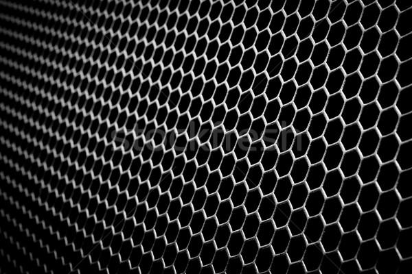 Absztrakt fémes hálózat fém számítógép technológia Stock fotó © kubais