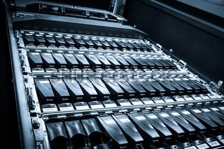 Veri merkezi bilgisayar Internet teknoloji Sunucu ağ Stok fotoğraf © kubais