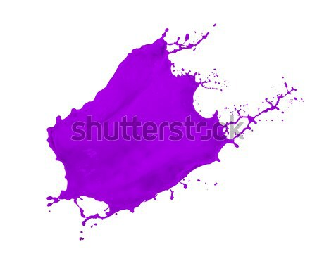 purple paint splash Stock photo © kubais