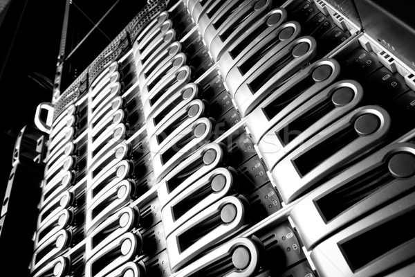 Data center dettaglio business internet sicurezza comunicazione Foto d'archivio © kubais