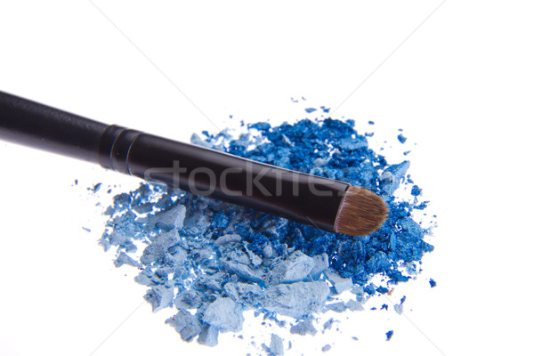 Brosse isolé blanche texture oeil modèle Photo stock © kubais