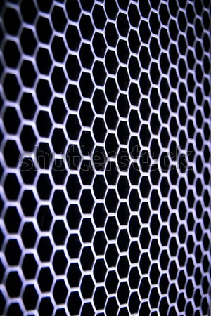 Streszczenie metaliczny sieci metal komputera technologii Zdjęcia stock © kubais