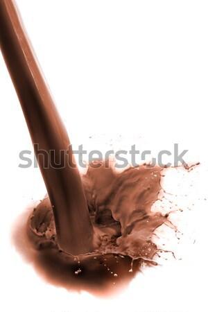 milk chocolate Stock photo © kubais