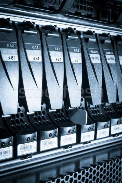 центр обработки данных компьютер интернет технологий сервер сеть Сток-фото © kubais