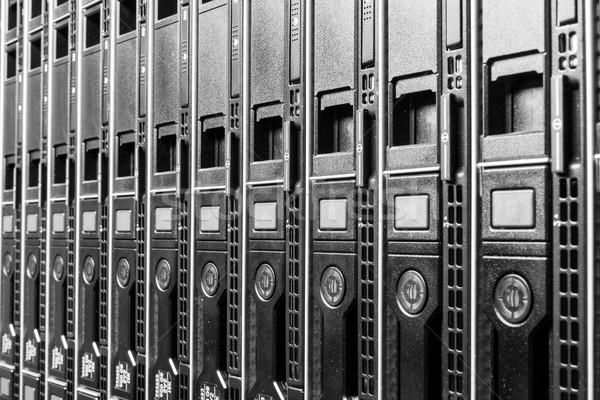 Veri merkezi donanım Internet oda kapı Sunucu Stok fotoğraf © kubais