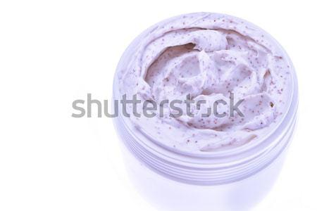 Test bozót izolált fehér arc szépség Stock fotó © kubais