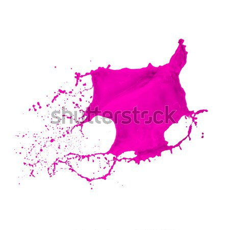 magenta paint splash Stock photo © kubais