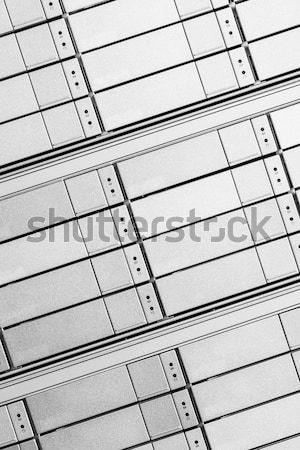 Data center sprzętu Internetu pokój streszczenie drzwi Zdjęcia stock © kubais