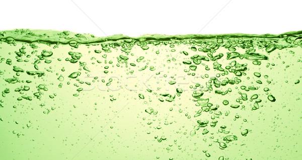 лет пить зеленый соды пузырьки воды Сток-фото © kubais