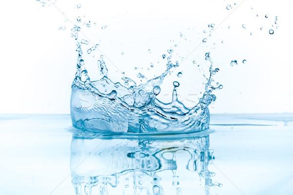 Aislado blanco fondo beber velocidad Foto stock © kubais