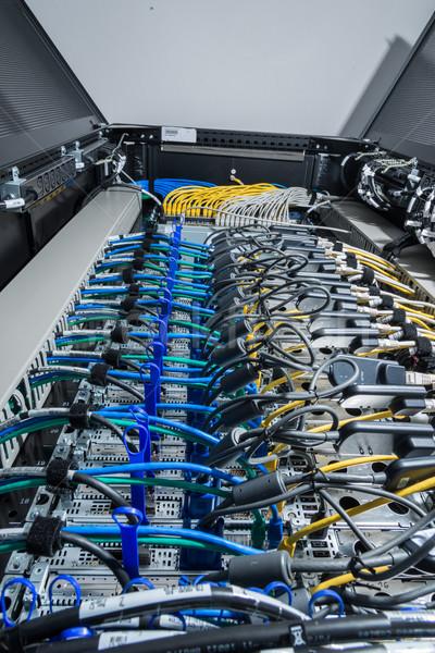 центр обработки данных аппаратных задний сторона хранения Сток-фото © kubais