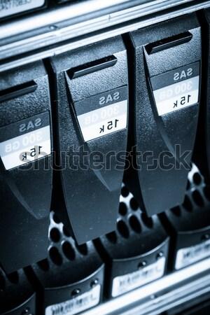 Data center Internetu technologii serwera sieci Zdjęcia stock © kubais