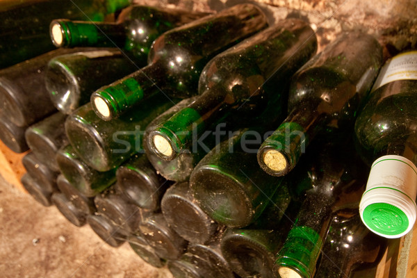 wine bottles Stock photo © kubais