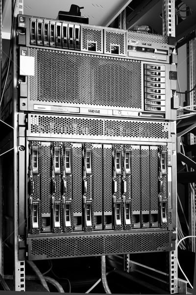 Veri merkezi detay iş Internet güvenlik iletişim Stok fotoğraf © kubais