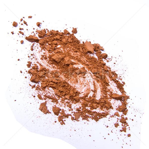 Fard à paupières isolé blanche texture oeil modèle Photo stock © kubais
